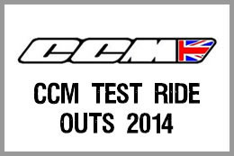 CCM test ride outs 2014
